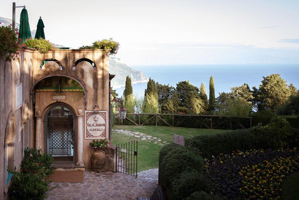 Villa Cimbrone reception - Wedding at Villa Cimbrone - Italian Wedding Designer