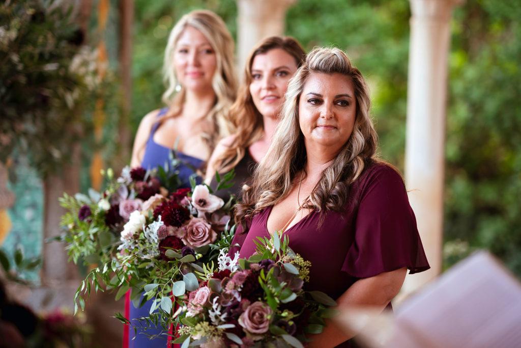 Bridesmaids at Villa Cimbrone - Wedding at Villa Cimbrone - Italian Wedding Designer