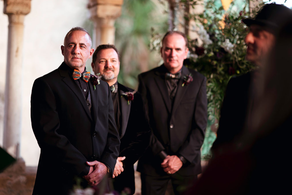 Best men at Villa Cimbrone - Wedding at Villa Cimbrone - Italian Wedding Designer