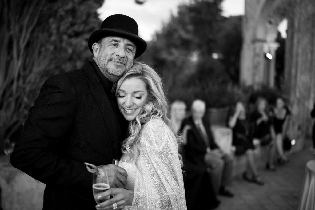 Bride and Groom portrait - Wedding at Villa Cimbrone - Italian Wedding Designer