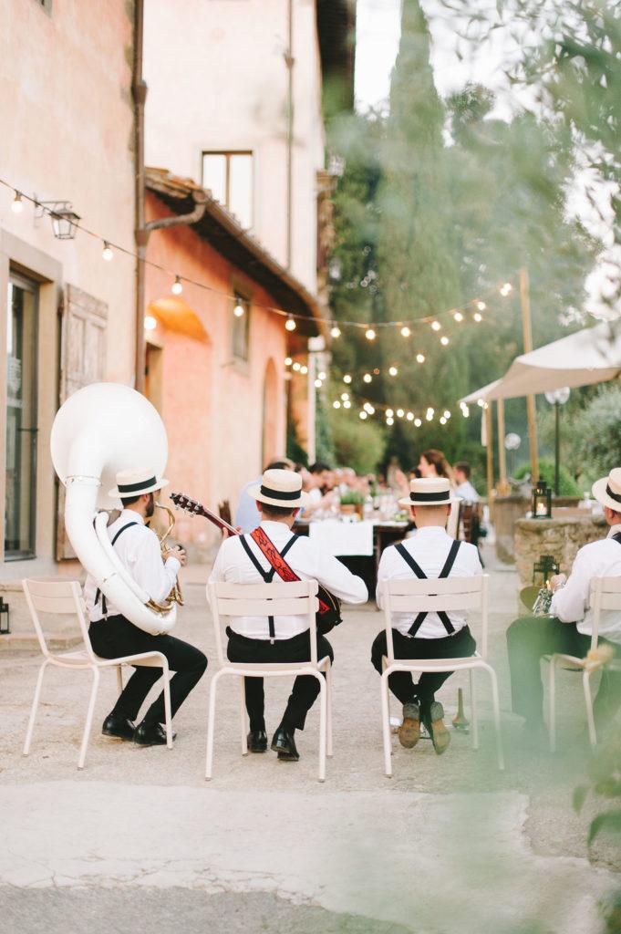 Band - Wedding at Villa Vignamaggio - Italian Wedding Designer