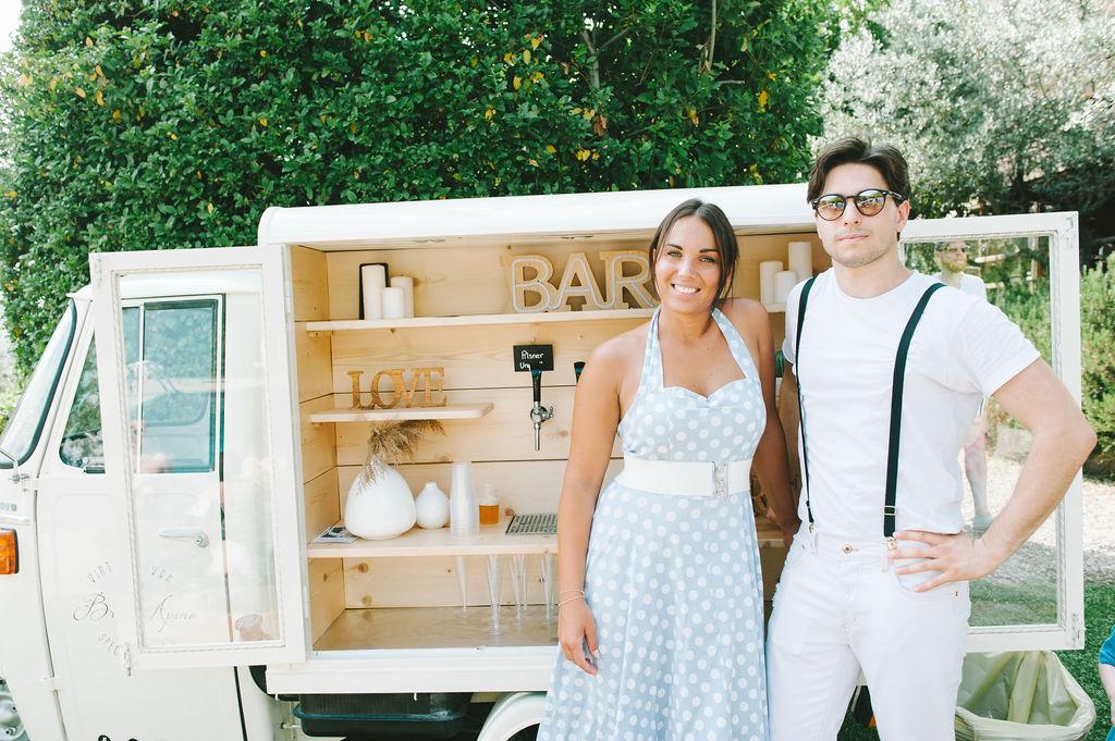 Brindapino staff - Wedding at Villa Vignamaggio - Italian Wedding Designer