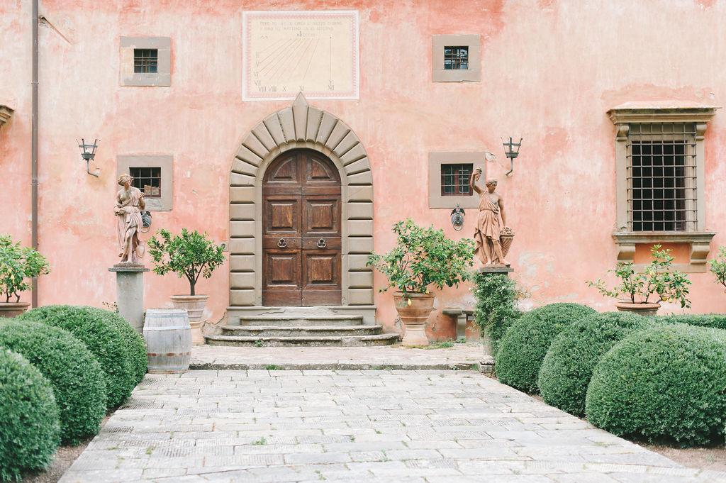 Italian Door - Wedding at Villa Vignamaggio - Italian Wedding Designer