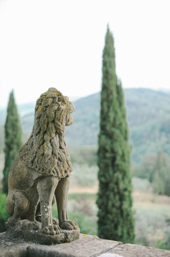 Gioconda Terrace - Wedding at Villa Vignamaggio - Italian Wedding Designer