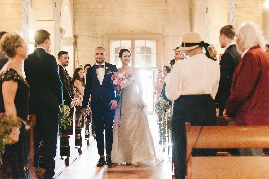 Bride Entrance - Wedding at Villa Vignamaggio - Italian Wedding Designer
