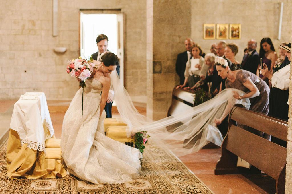Catholic Ceremony - Wedding at Villa Vignamaggio - Italian Wedding Designer
