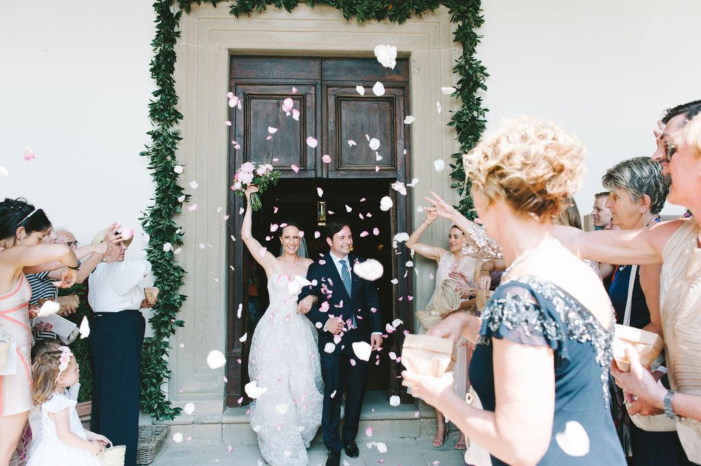 Recessional - Wedding at Villa Vignamaggio - Italian Wedding Designer