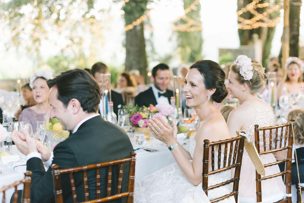 Speeches vignamaggio- Wedding at Villa Vignamaggio - Italian Wedding Designer