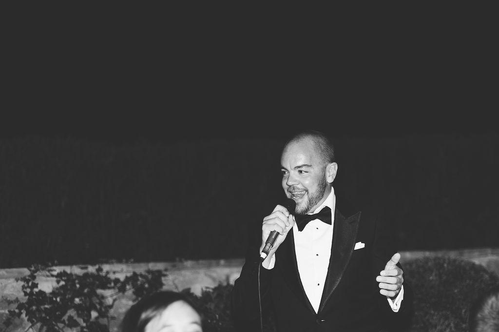 Speeches - Wedding at Villa Vignamaggio - Italian Wedding Designer