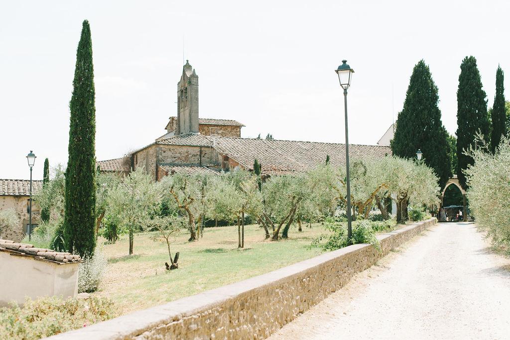 San Leolino Church - Wedding at Villa Vignamaggio - Italian Wedding Designer