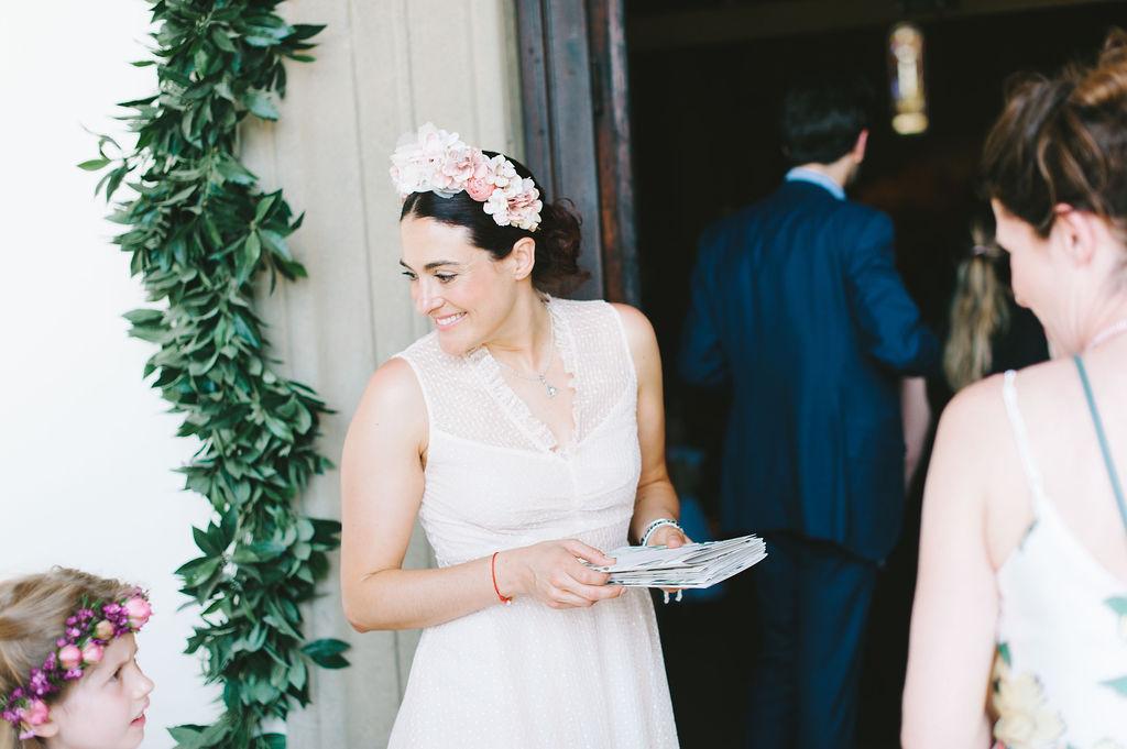 Bridesmaid - Wedding at Villa Vignamaggio - Italian Wedding Designer