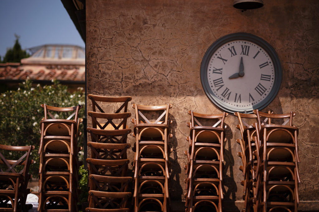 Set up - Wedding at Castello di Castagneto - Italian Wedding Designer