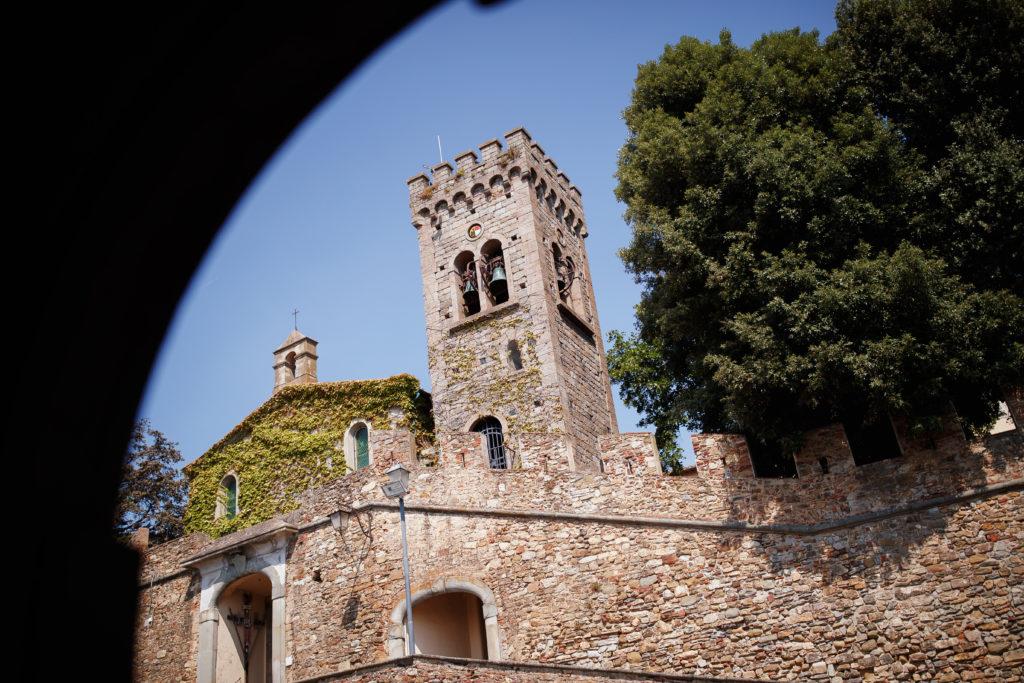 Church in Castello di Castagneto - Wedding at Castello di Castagneto - Italian Wedding Designer