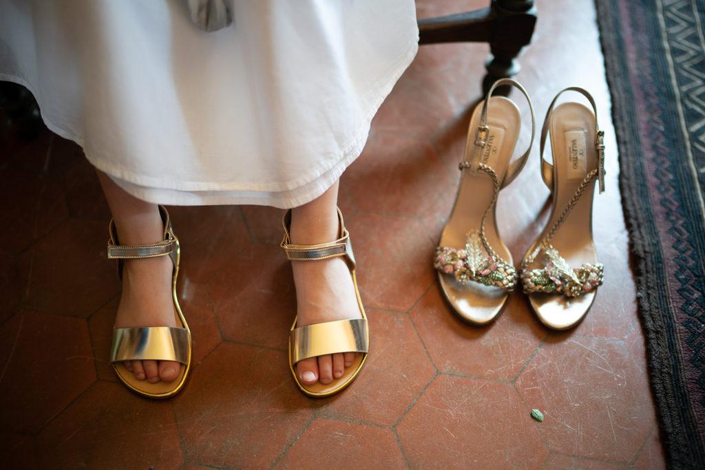 Wedding shoes - Wedding at Castello di Castagneto - Italian Wedding Designer
