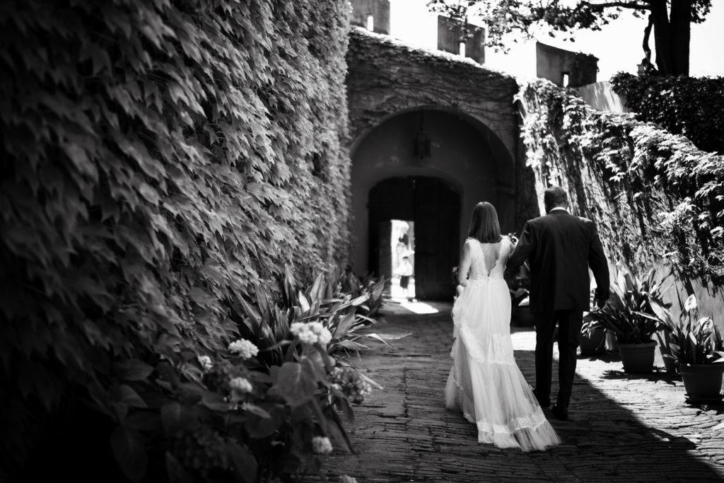 Church entrance - Wedding at Castello di Castagneto - Italian Wedding Designer