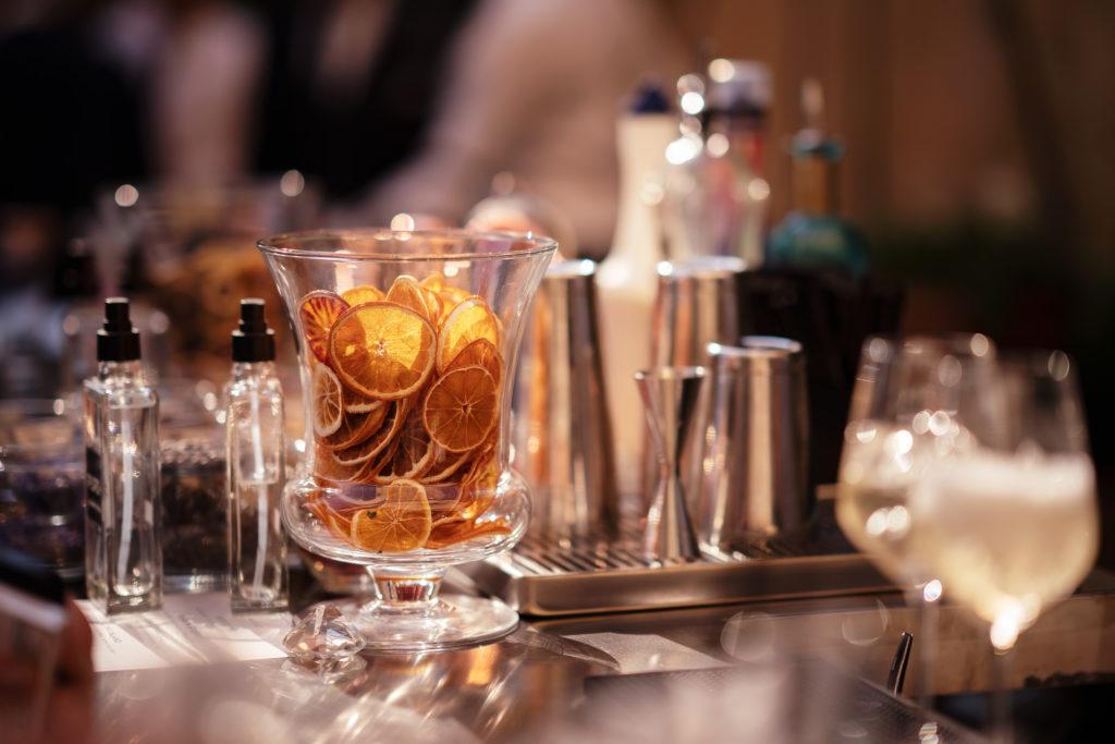 Cocktails - Wedding at Castello di Castagneto - Italian Wedding Designer