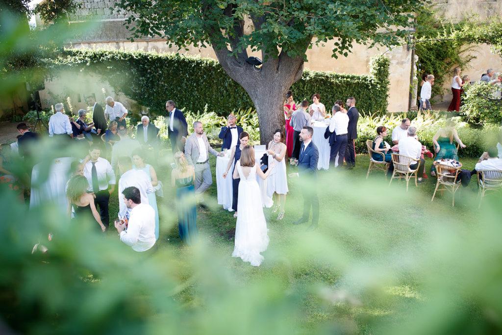 Cocktail at the Castle - Wedding at Castello di Castagneto - Italian Wedding Designer