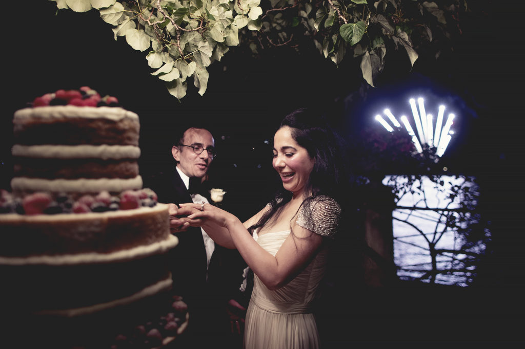 cake on the lake A Persian Wedding in Italy - Italian Wedding Designer