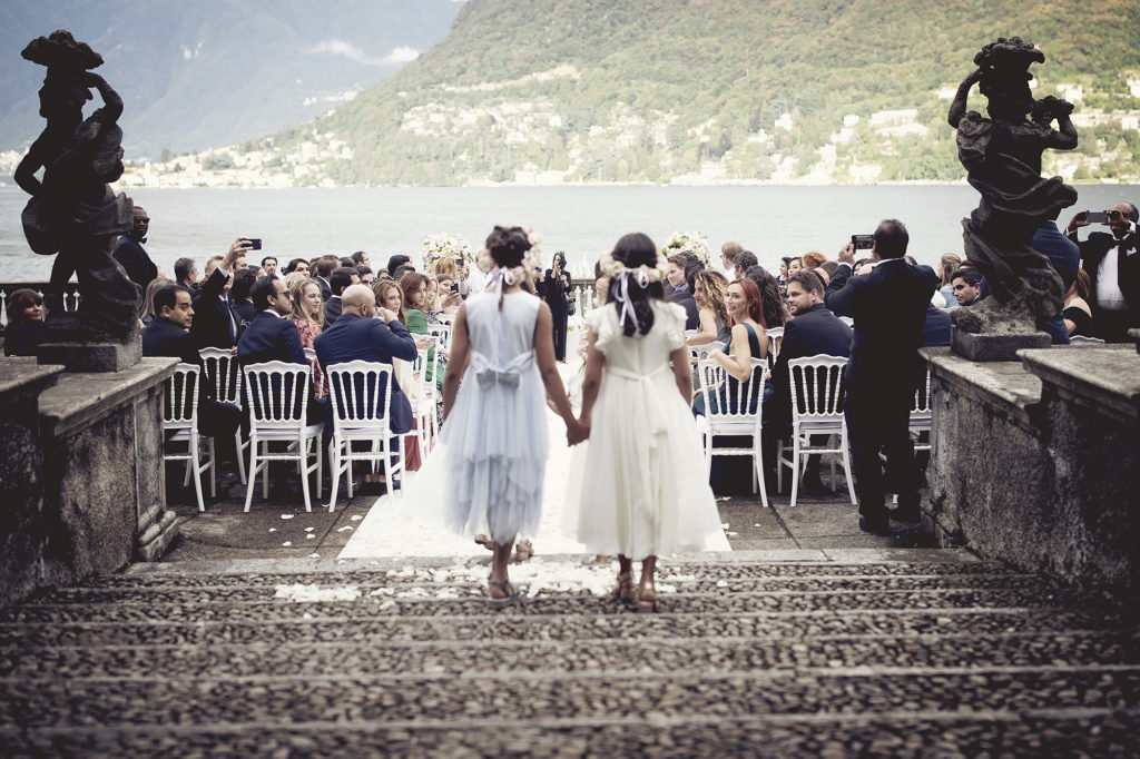 Flowers girls - A Persian Wedding in Italy - Italian Wedding Designer
