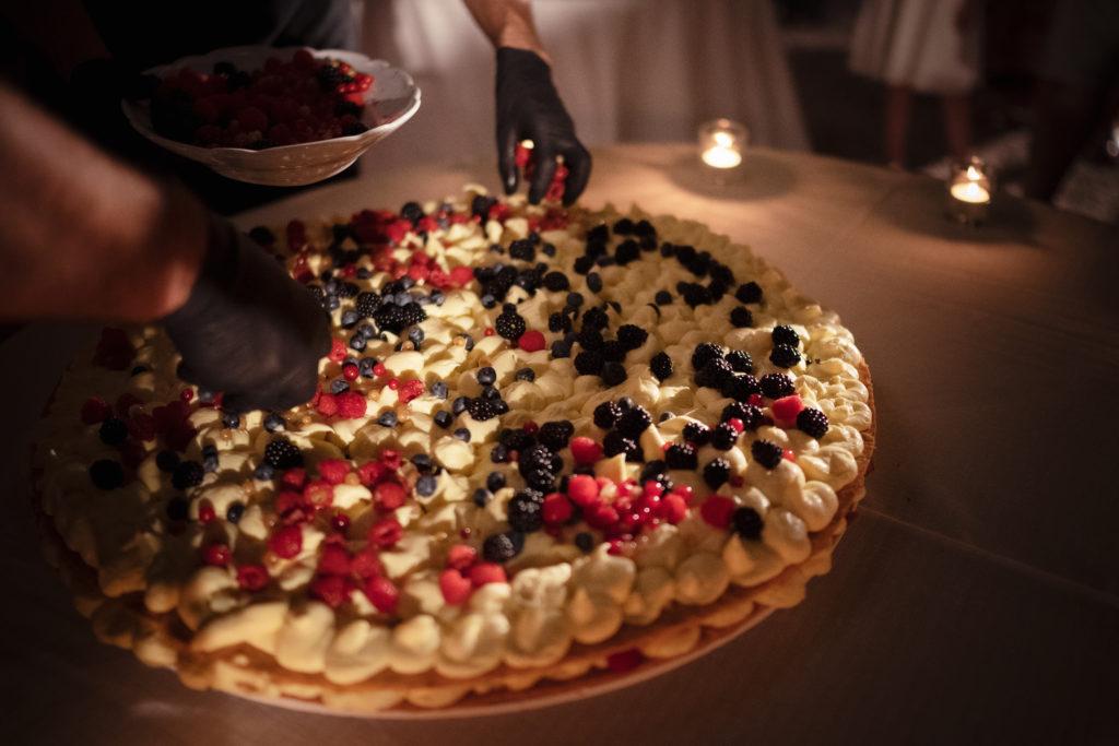 Millefoglie cake - Wedding at Castello di Castagneto - Italian Wedding Designer