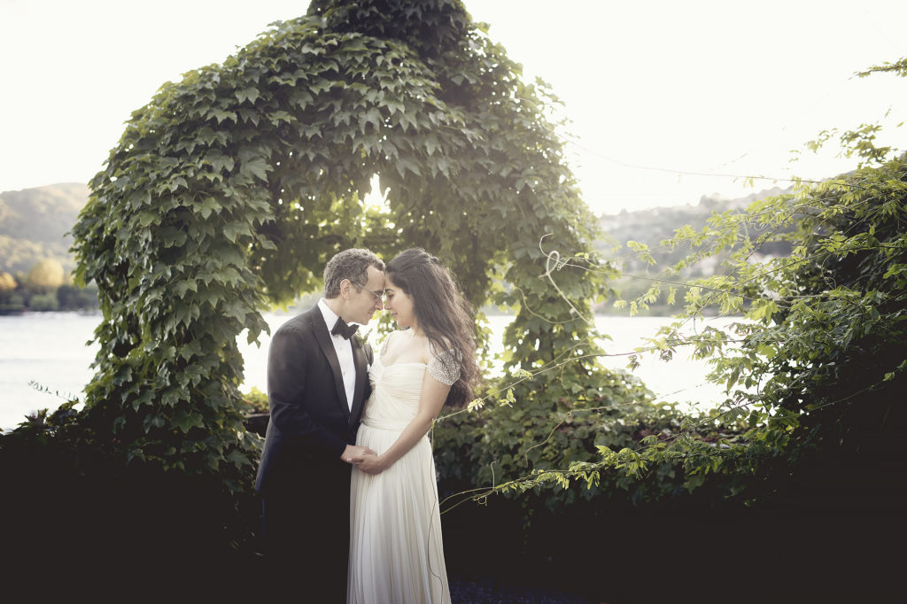Newlyweds in Villa Pizzo A Persian Wedding in Italy - Italian Wedding Designer