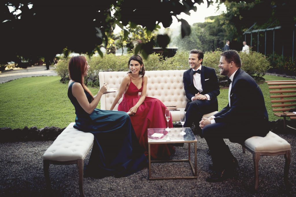 Wedding guests - A Persian Wedding in Italy - Italian Wedding Designer