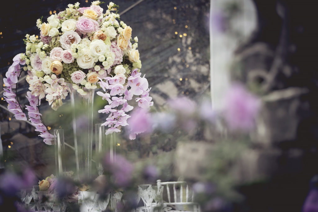 Lavish flowers compositions - A Persian Wedding in Italy - Italian Wedding Designer