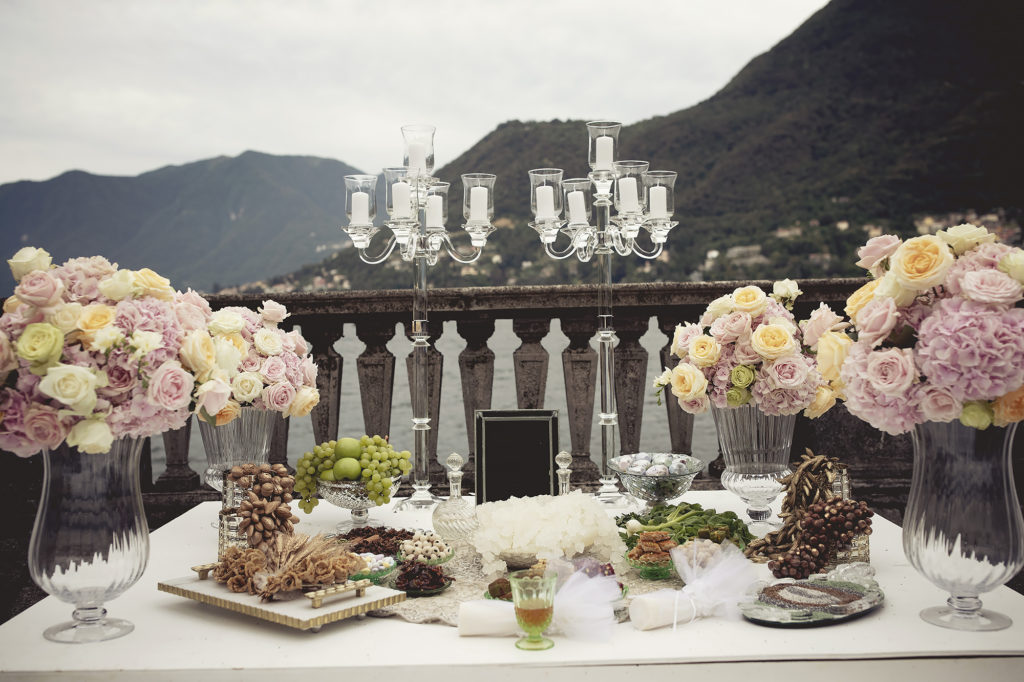 Iranian sofreh aghd - A Persian Wedding in Italy - Italian Wedding Designer