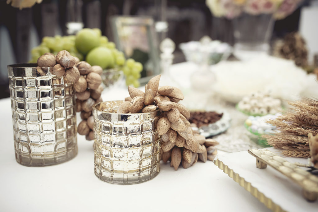 Details of sofreh aghd - A Persian Wedding in Italy - Italian Wedding Designer