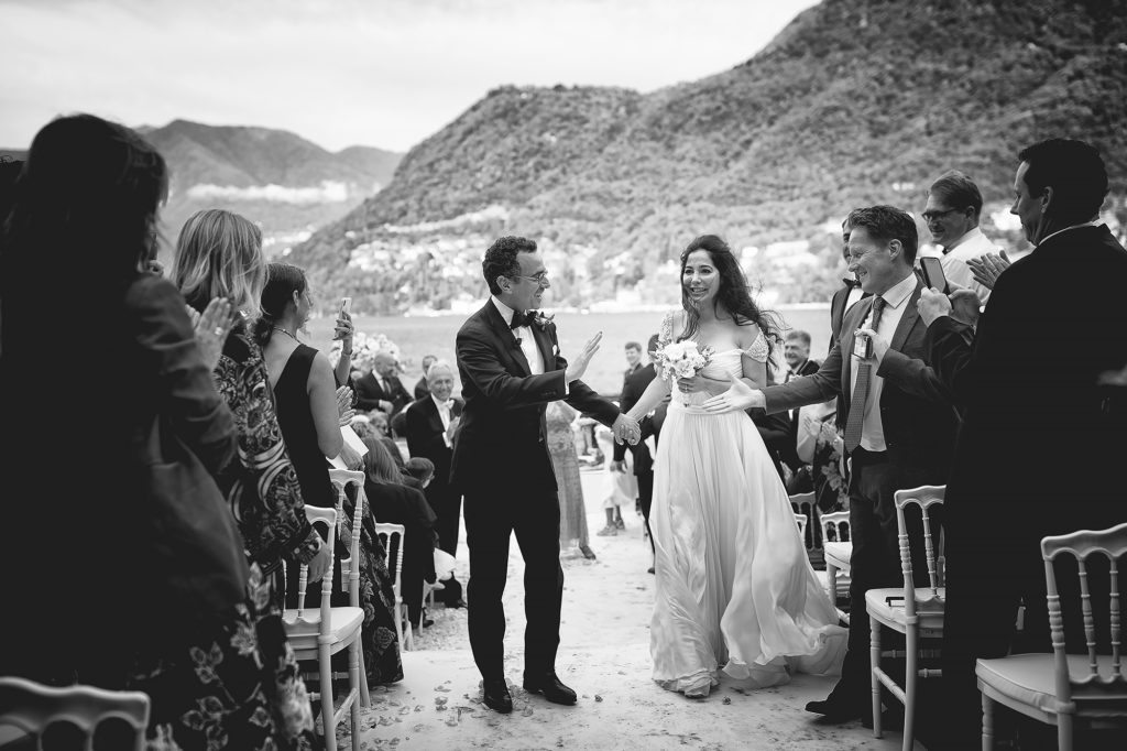 Recessional - A Persian Wedding in Italy - Italian Wedding Designer