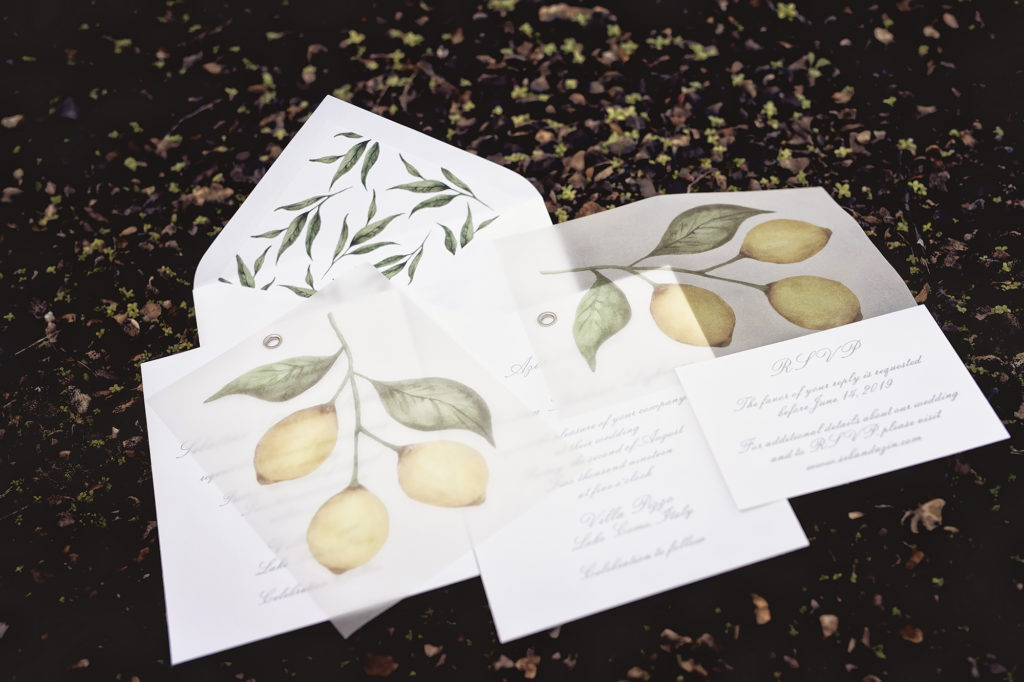 Wedding Invitation - A Persian Wedding in Italy - Italian Wedding Designer