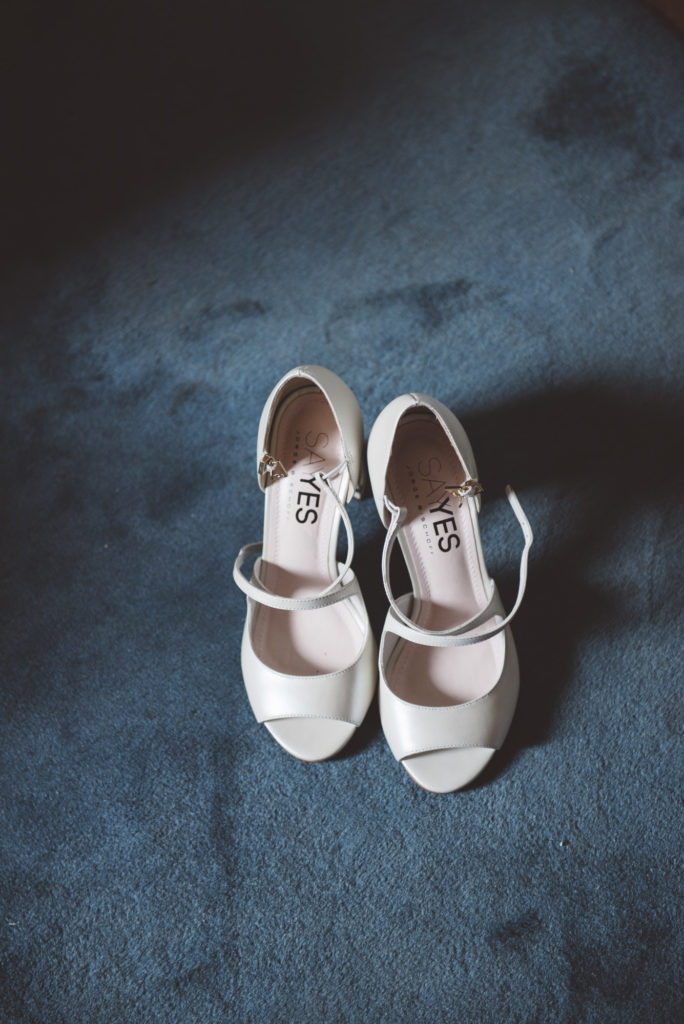 Bridal shoes- Wedding at Castello di Meleto - Italian Wedding Designer