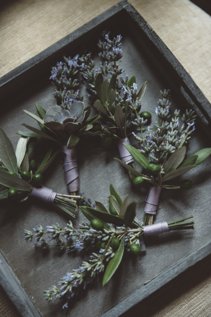 Boutonniere - Wedding at Castello di Meleto - Italian Wedding Designer