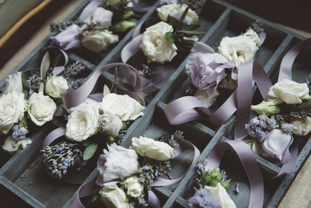Corsages - Wedding at Castello di Meleto - Italian Wedding Designer