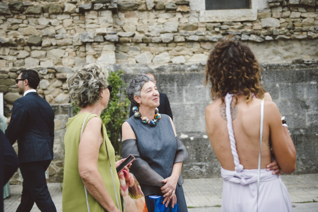 Wedding Guests - Wedding at Castello di Meleto - Italian Wedding Designer