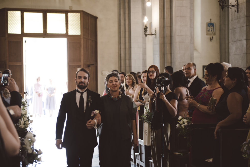 Groom entrance - Wedding at Castello di Meleto - Italian Wedding Designer