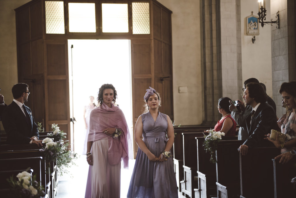 Bridesmaids- Wedding at Castello di Meleto - Italian Wedding Designer