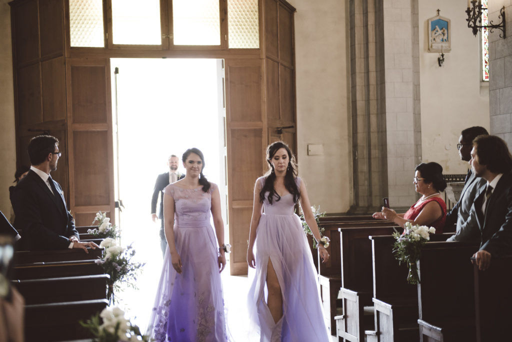 Bridesmaids - Wedding at Castello di Meleto - Italian Wedding Designer