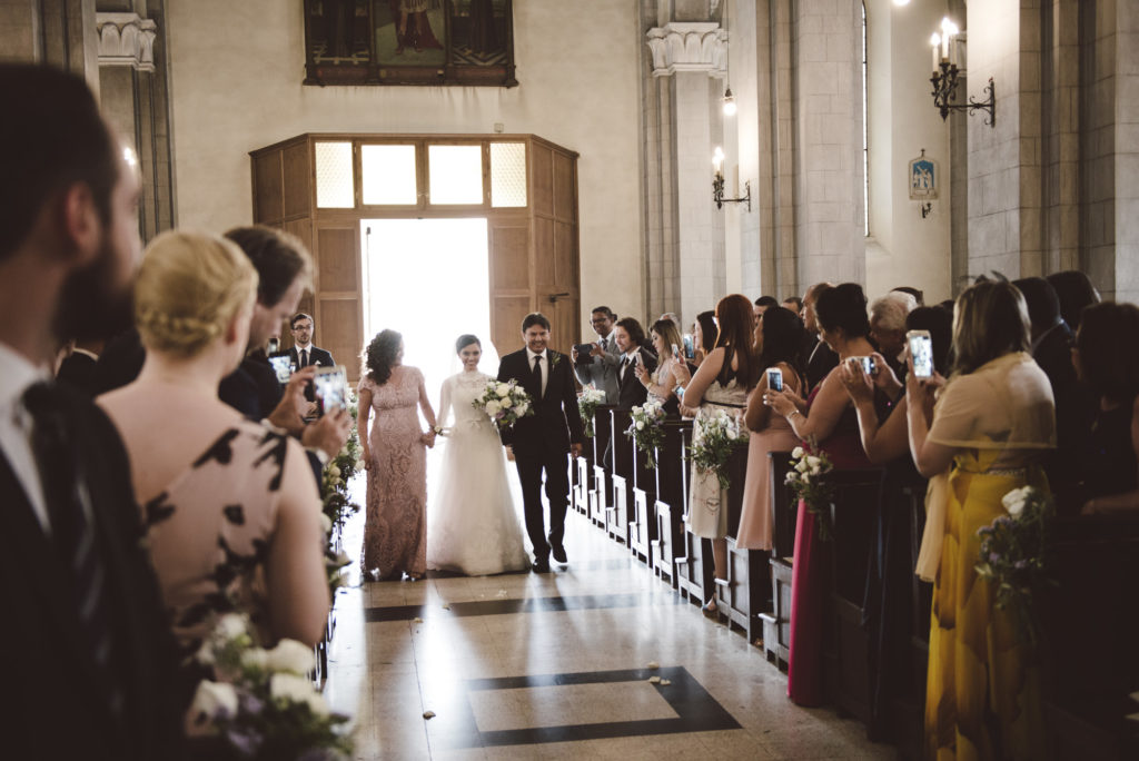 Bride entrance - Wedding at Castello di Meleto - Italian Wedding Designer