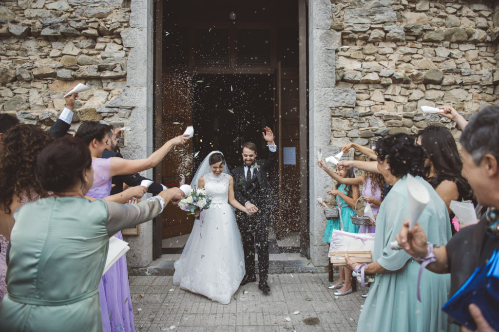 Recessional - Wedding at Castello di Meleto - Italian Wedding Designer