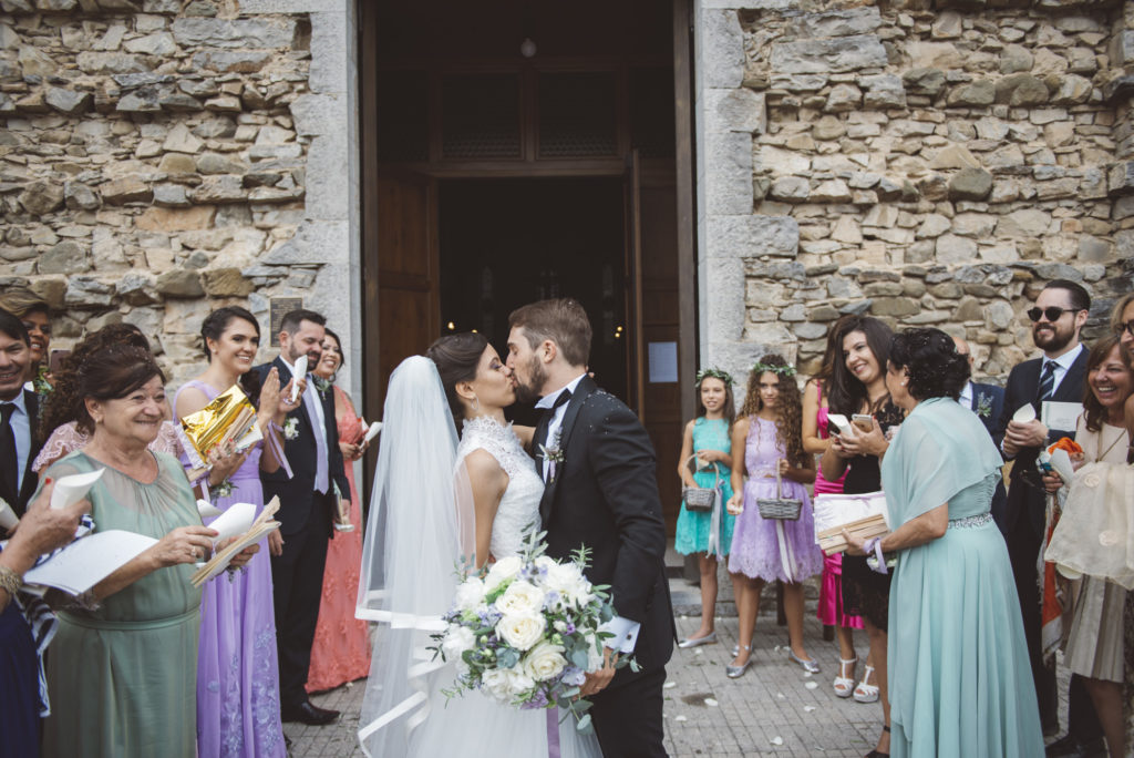 Newlyweds - Wedding at Castello di Meleto - Italian Wedding Designer