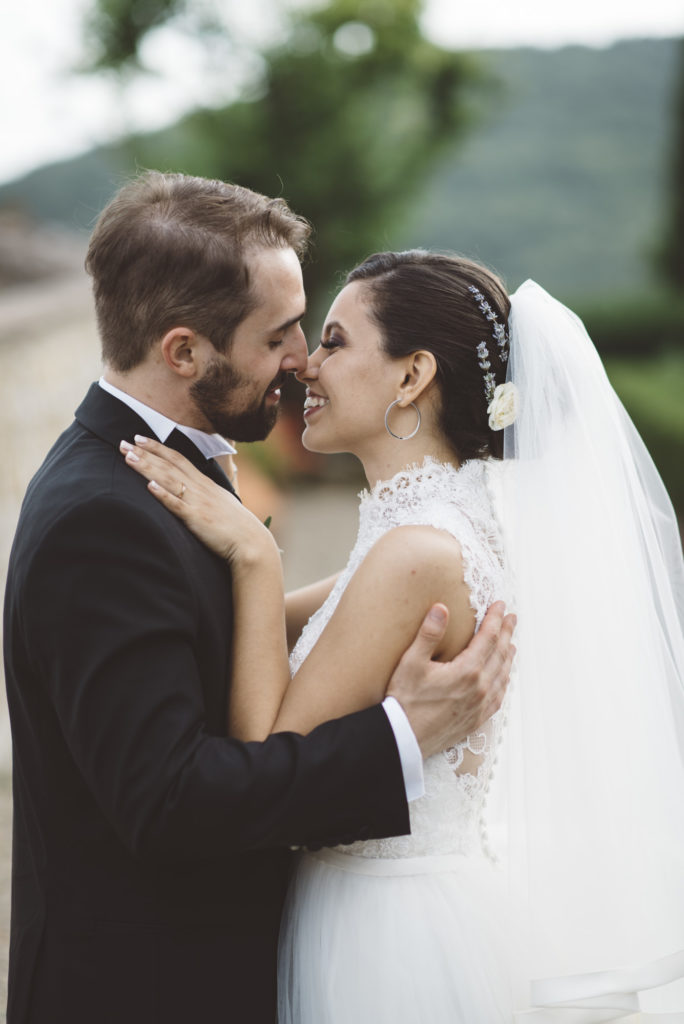 Couple photo- Wedding at Castello di Meleto - Italian Wedding Designer