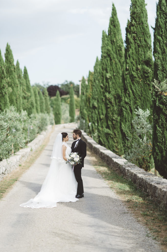 Wedding portrait- Wedding at Castello di Meleto - Italian Wedding Designer