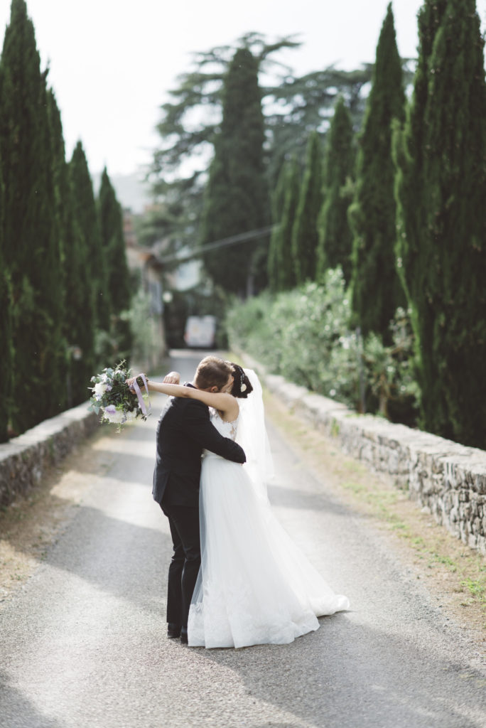 Wedding portrait - Wedding at Castello di Meleto - Italian Wedding Designer