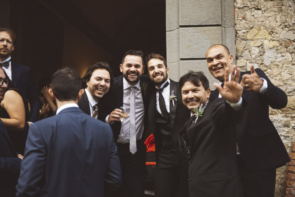 Aperitif - Wedding at Castello di Meleto - Italian Wedding Designer