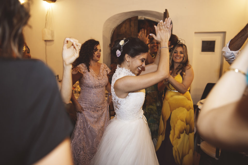 Dancing - Wedding at Castello di Meleto - Italian Wedding Designer
