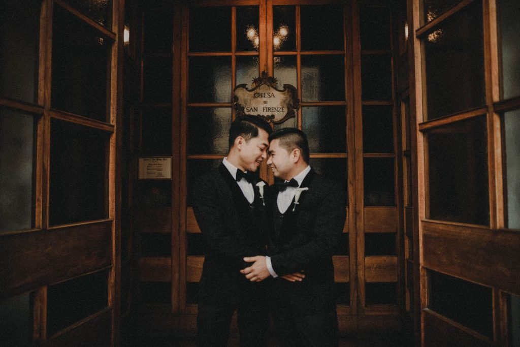 Love is Love Same-Sex Wedding in Italy - Italian Wedding Designer