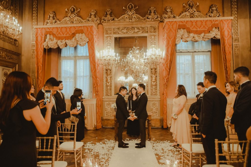 Symbolic Ceremony Palazzo Borghese - Same-Sex Wedding in Italy - Italian Wedding Designer
