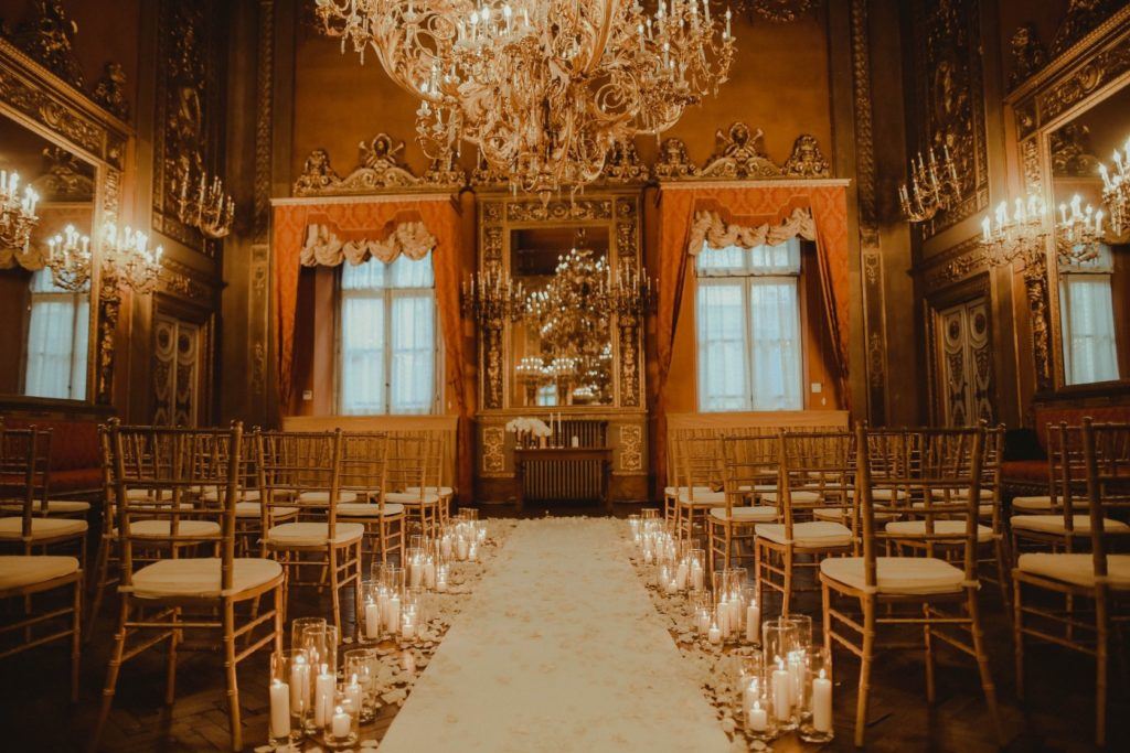 Ceremony Palazzo Borghese - Same-Sex Wedding in Italy - Italian Wedding Designer