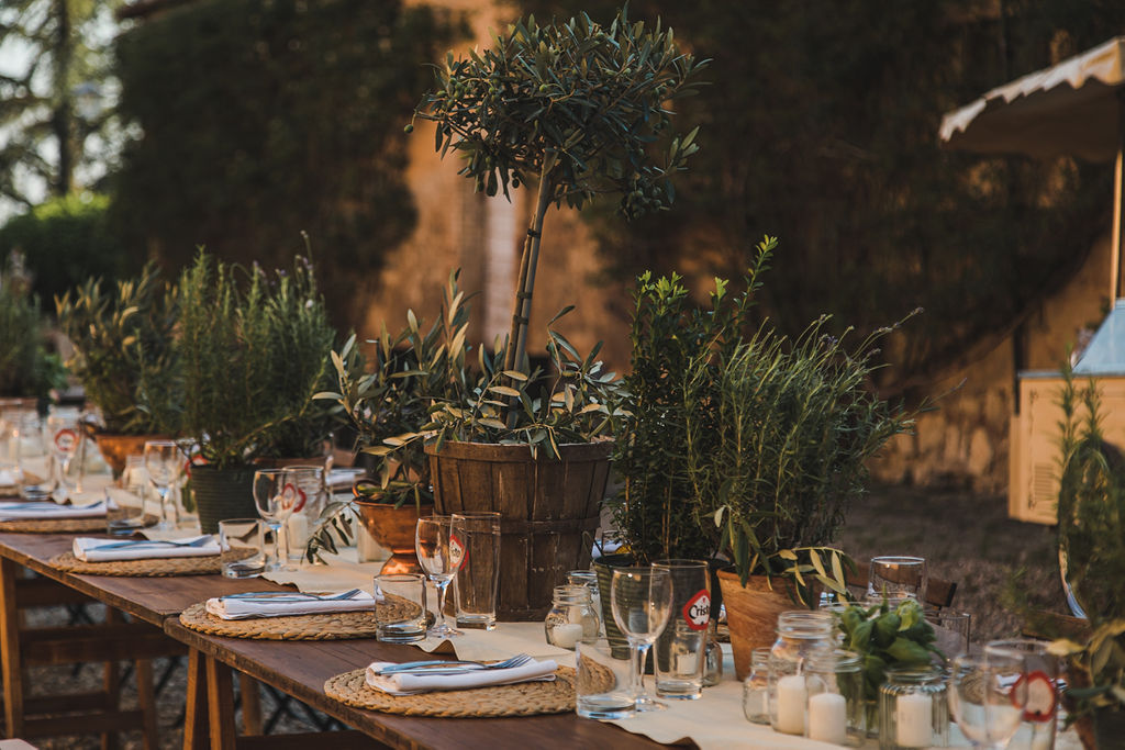 Wild Herbs to be reused after the wedding - Italian Wedding Designer